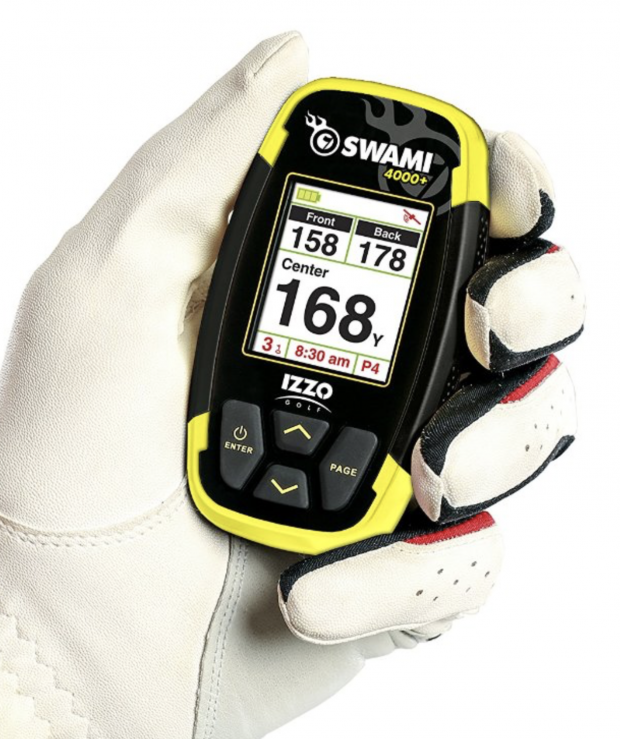 IZZO Swami 4000+ Golf GPS device - compact small size