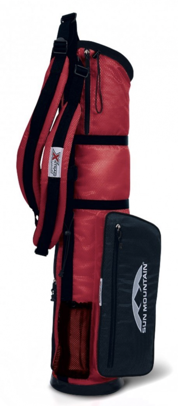 Sun Mountain Mens Sunday X-Strap Golf Carry Bag