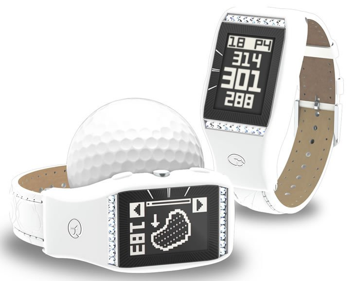 GolfBuddy Ladies LD2 Golf GPS Watch - improve your game