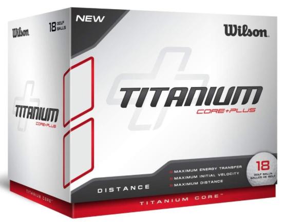 Wilson Titanium Ball (18 Ball Pack)