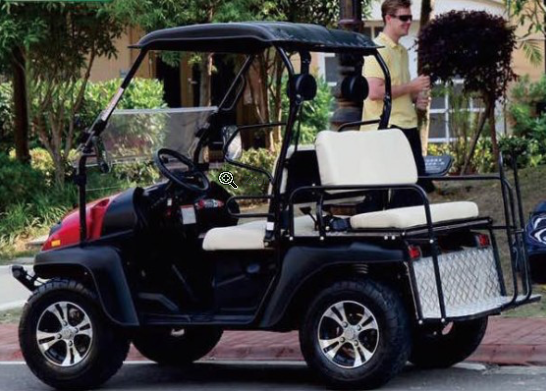 BIG HORN CUV 200GVX 4 SEAT GAS GOLF CAR Buggy