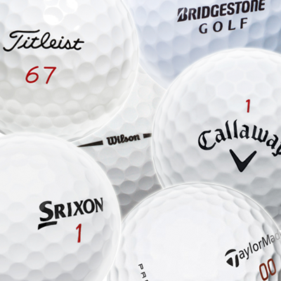 Golf Balls Major Brands