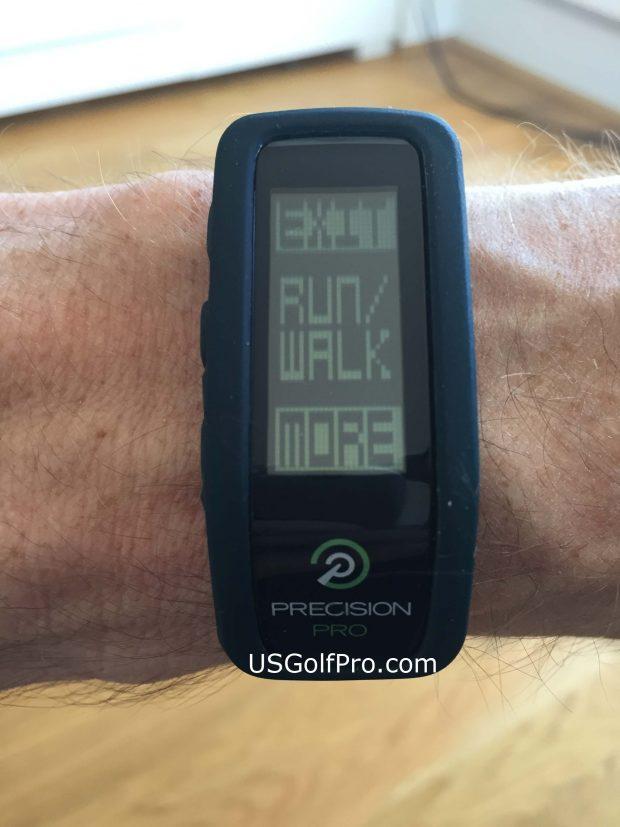 Precision Pro Golf GPS Band - activity tracker run walk