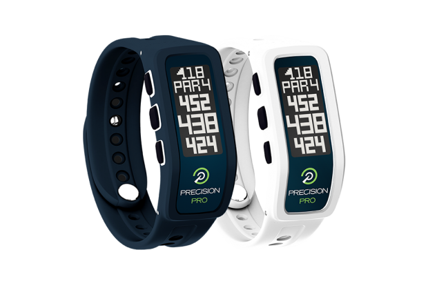 Precision Pro Golf GPS Band - midnight blue and white colors