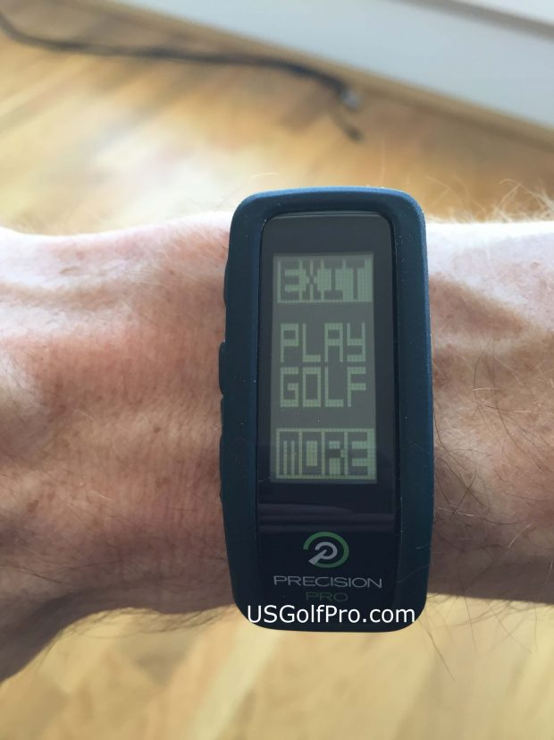 Precision Pro Golf GPS Band - slim design and easy to use