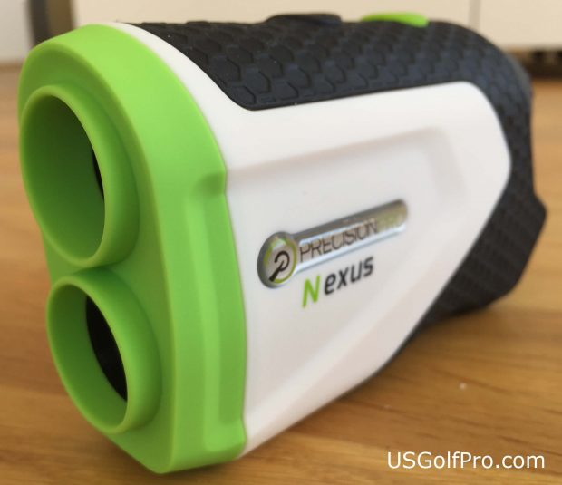 Precision Pro Nexus golf rangefinder - front side view