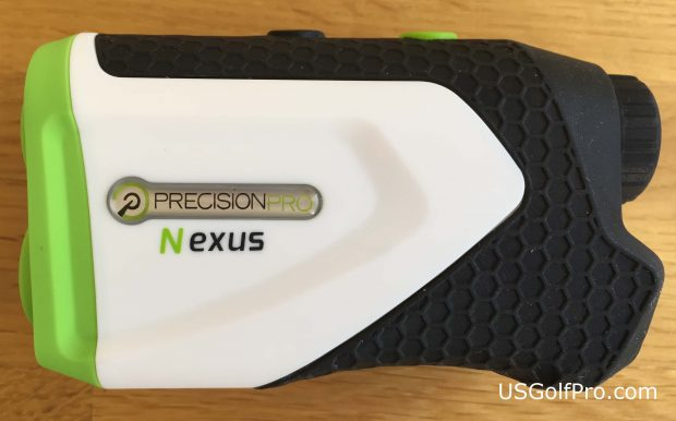Precision Pro Nexus golf rangefinder - side view