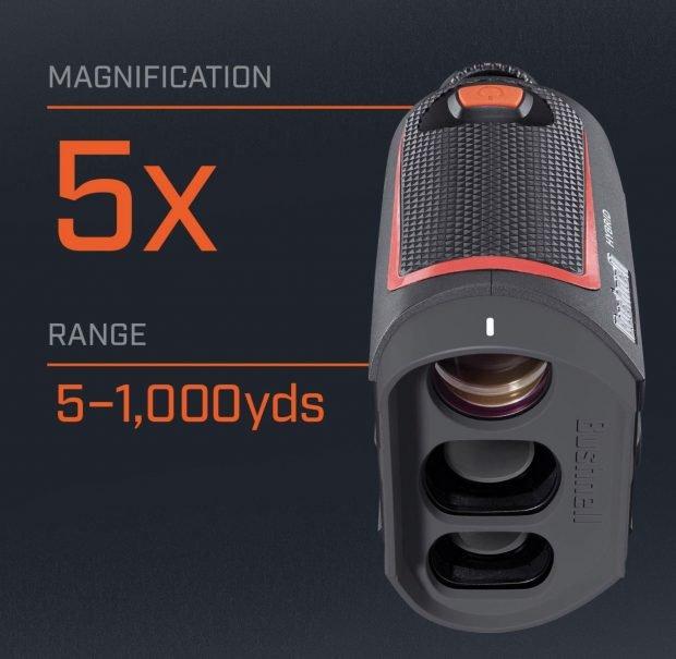 Bushnell Hybrid GPS laser golf rangefinder - 5x magnification