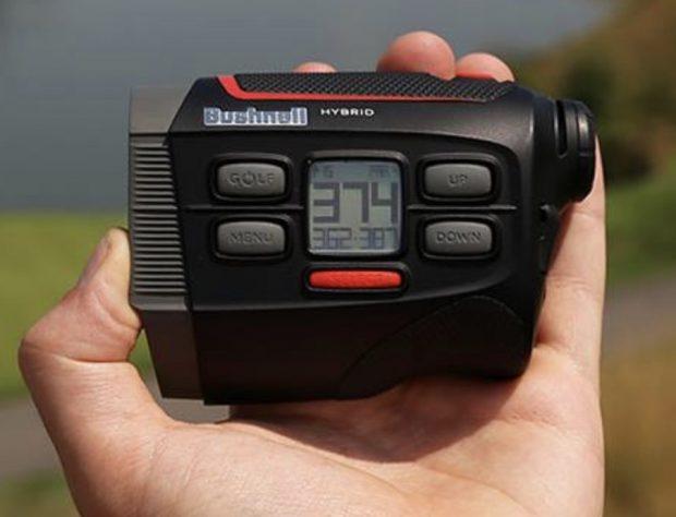 Bushnell Hybrid GPS laser golf rangefinder