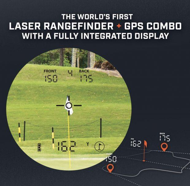 Bushnell Hybrid GPS laser golf rangefinder - great combo