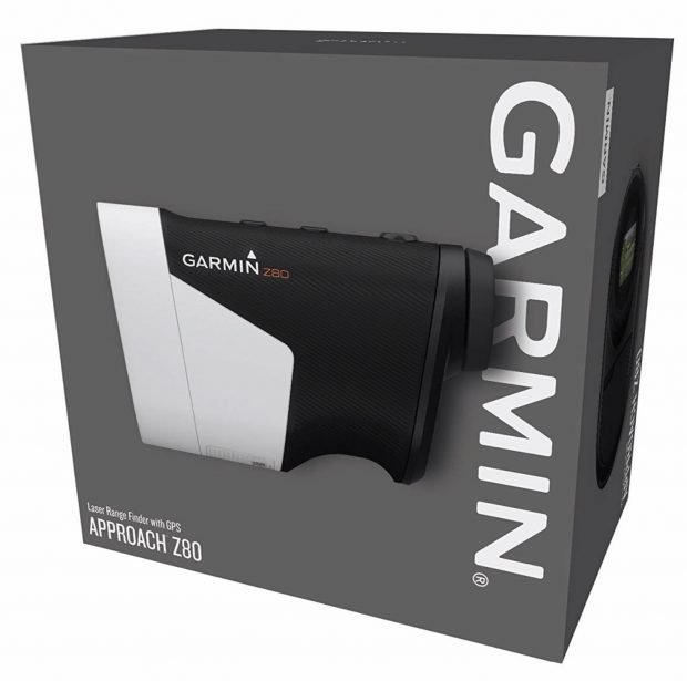 Garmin Approach Z80 Hybrid GPS Golf Rangefinder - packaging