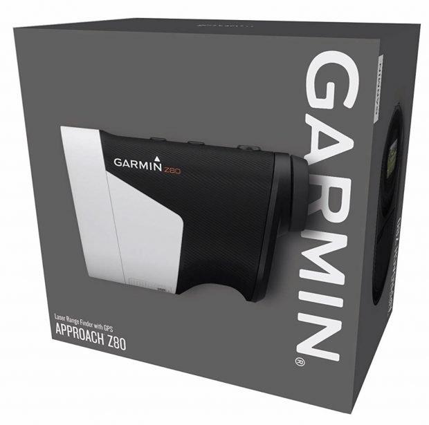 Garmin Approach Z80 Hybrid GPS Golf Rangefinder - packaging
