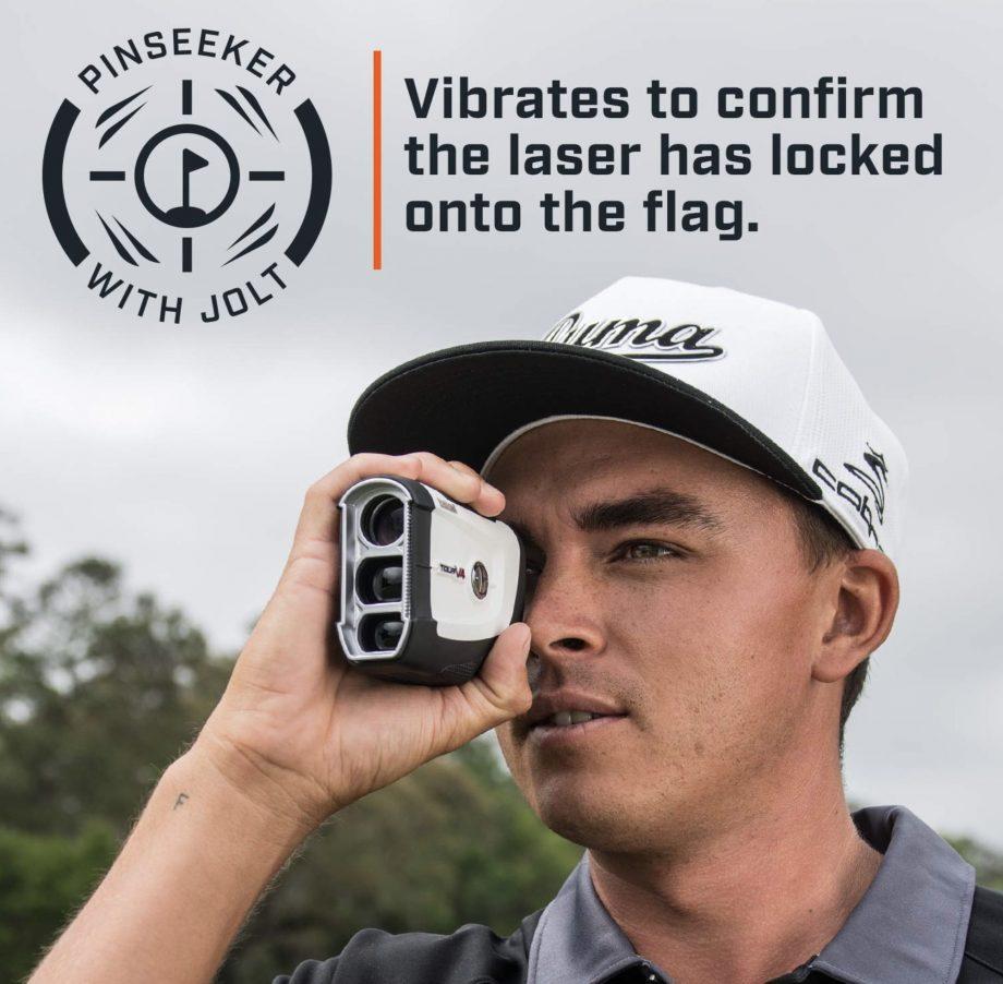 Bushnell Tour V4 Jolt golf rangefinder - pinseeker