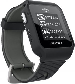 Callaway GPSy Golf GPS Watch - distances to green hazards