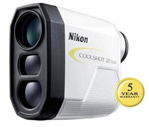 Nikon Coolshot 20i GII Golf Rangefinder - Better magnification