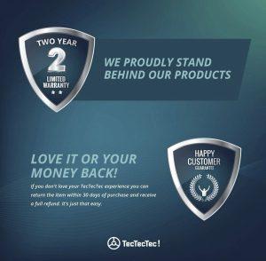TecTecTec ULT-X Golf Rangefinder - warranty